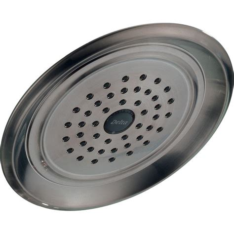Shower Heads Home Depot by Delta Innovations 1 Spray 7 1 2 In Fixed Shower In