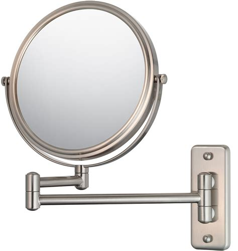 wall mounted makeup mirror wall mounted makeup mirror arm in wall mirrors