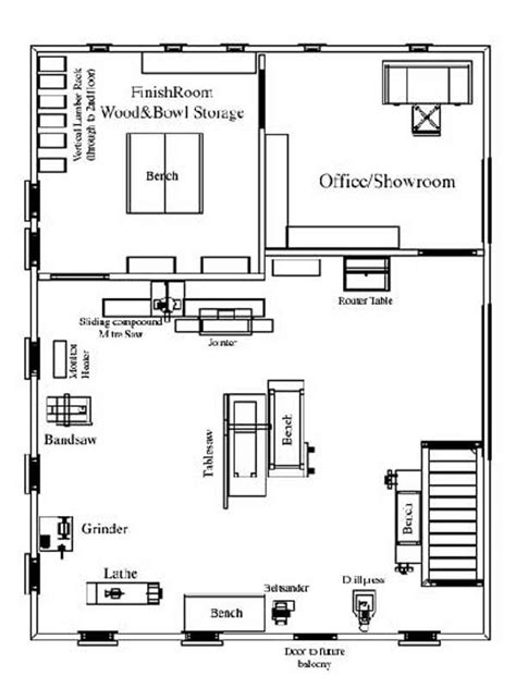 www floor plan design com michael foster woodworking workshop