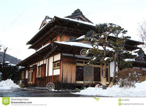 casa en japones casa japonesa tradicional foto de stock imagem de kyoto
