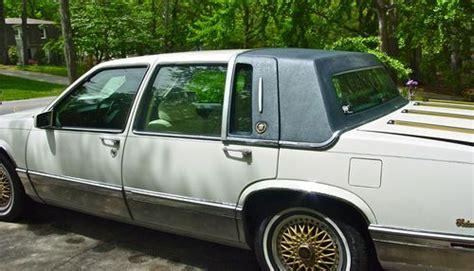 purchase   cadillac deville base sedan  door