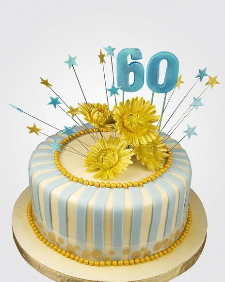 60th Birthday Cake by 60th Birthday Cake Cm0450 Panari Cakes