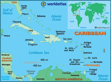 map of the caribbean islands and south america world travels sepia geography world atlas travel poster