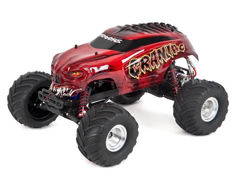 traxxas monster jam trucks traxxas quot craniac quot 1 10 rtr monster truck tra36094 1