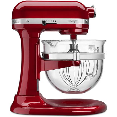 kitchenaid mixer glass bowl kitchenaid stand mixer design series pro 600