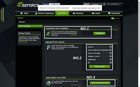 Vga Yang Cocok Untuk cara update driver vga nvidia dan amd untuk pc notebook yang benar