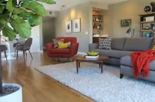 mid century modern design living room midcentury