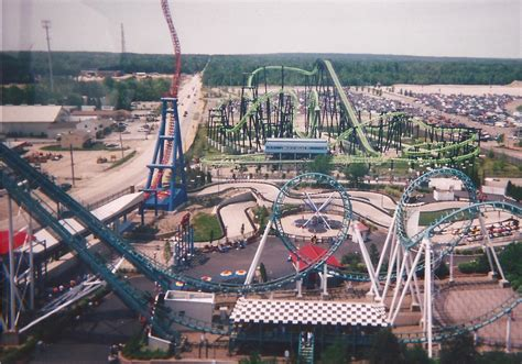 Worlds Of Adventure by Vintage Park Photos Six Flags Worlds Of Adventure