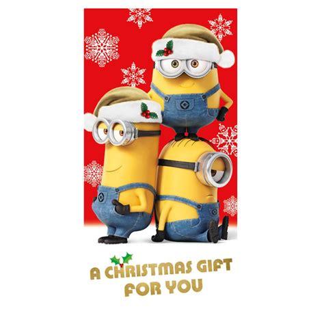 minions christmas cards assorted ebay