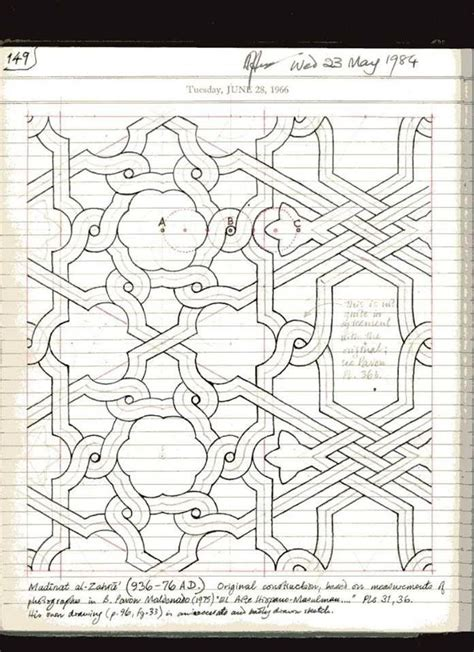 Design Pattern Notes By Sriman | 191 best images about notes of islamic star patterns by a