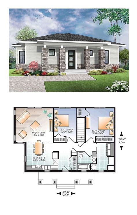 modern house plan small home floorplans image free house floor plans