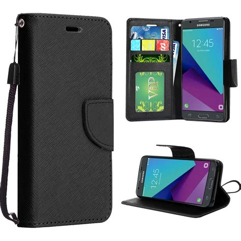 Samsung J3 Pro Prime for samsung galaxy j3 prime 2017 wallet pouch with id card pocket slots ebay