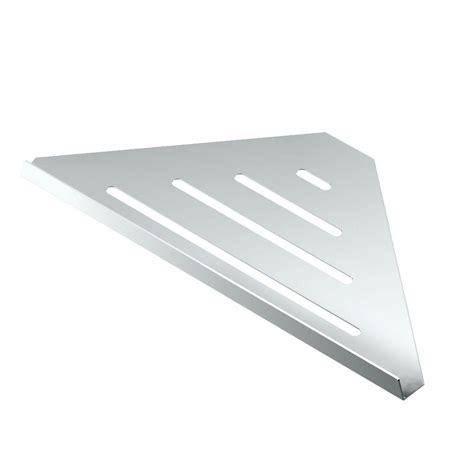 gatco 13 in w corner shelf in chrome 1463 the