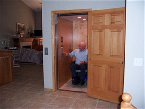 Small Home Elevators Uk Home Elevator For Wheelchair Users That Looks Like A