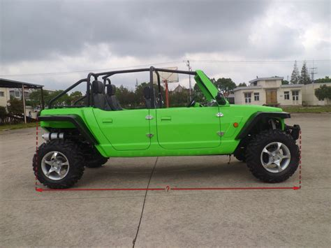 Side By Side Jeep 1100cc 4 Seats Jeep Side By Side Utv Dune Buggy For Sale