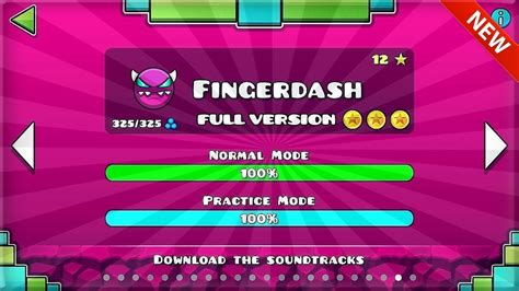 geometry dash full version all coins geometry dash fingerdash full version all coins