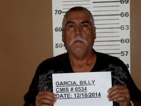 Albuquerque Inmate Records Billy Garcia Inmate 6534 New Mexico Doc Prisoner