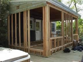 Sun Porch Windows Designs Framing A Sun Porch For Windows Framing Contractor Talk
