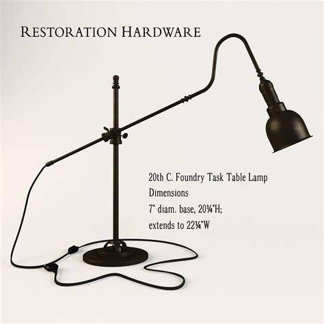 restoration hardware task l restoration hardware 20th c foundry task l 3d