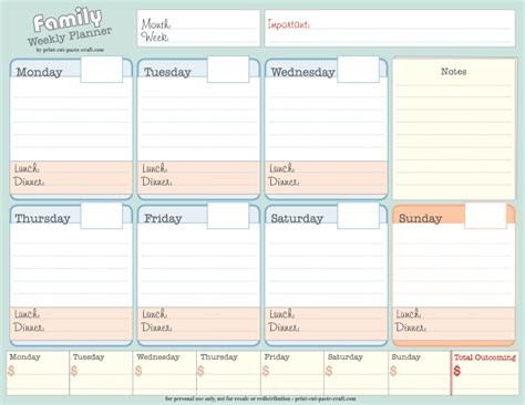 printable monthly planner free download monthly blog planner to download the printable pdf