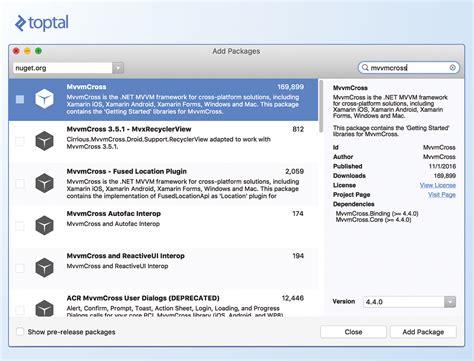 tutorial xamarin mac mvvmcross xamarin studio mac