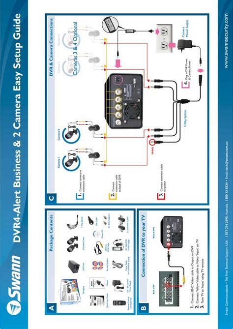 swann home security system dvr4 user guide manualsonline