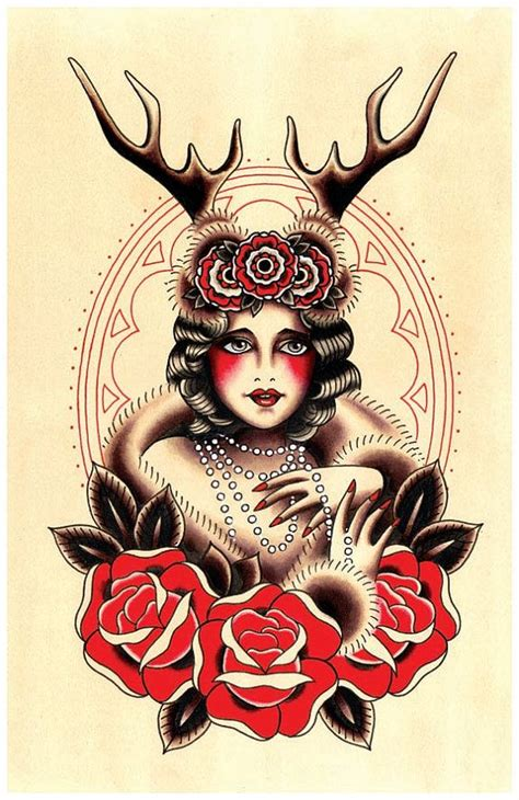 vintage tattoo photo prints 337 best images about tattoos and flash on pinterest
