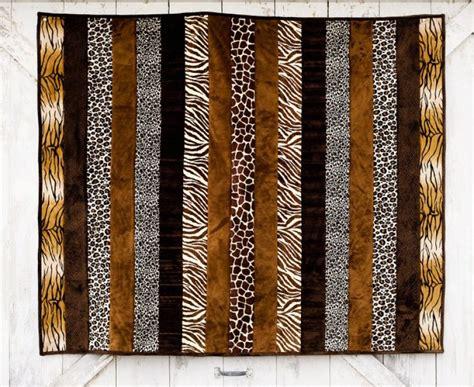 Animal Print Quilt by Cuddle Quilt Kit Animal Print 60 X 72