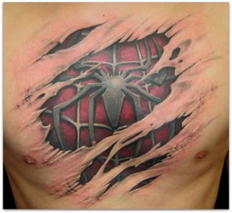 3d chest tattoo page title