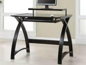 Kitchen Cabinet Refresh by Curvy Black Wooden Desk With White Tabletop Elegant