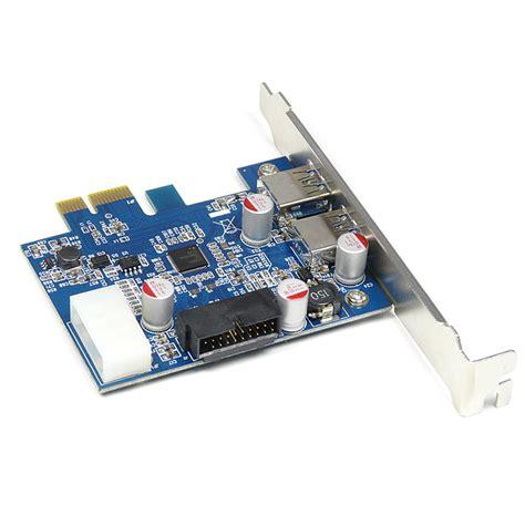 Pci E Usb 3 0 pci e express usb 3 0 card adapter 3 5 quot 4 port usb3 0