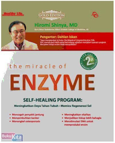 The Miracle Of Enzyme Paradigma Baru Hidup Sehat Cover bukukita gold edition the miracle of enzyme
