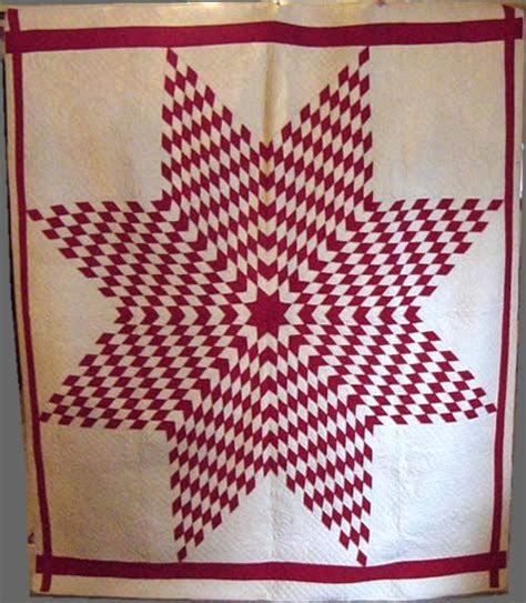 quilt pattern texas star large texas star quilt decorating with red and white