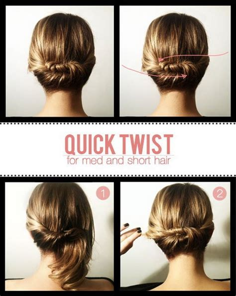 quick and easy hairstyles instructions hairstyles easy and quick and cute
