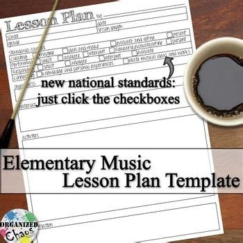 digital lesson plan template free lesson plan template for pk 8 general based on