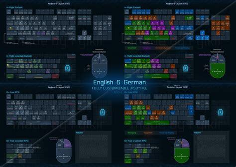 keyboard layout star citizen citizen spotlight redesigned keyboard control layout v2