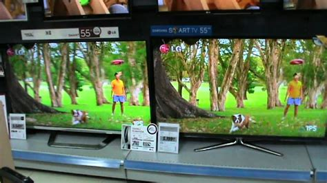 samsung v lg tv lg vs samsung 3d quality test mpg
