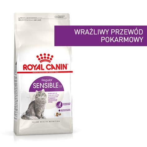 Royal Canin Sensible 33 2kg royal canin sensible 33 0 4 2 4 10 kg sklep zoologiczny naszezoo pl