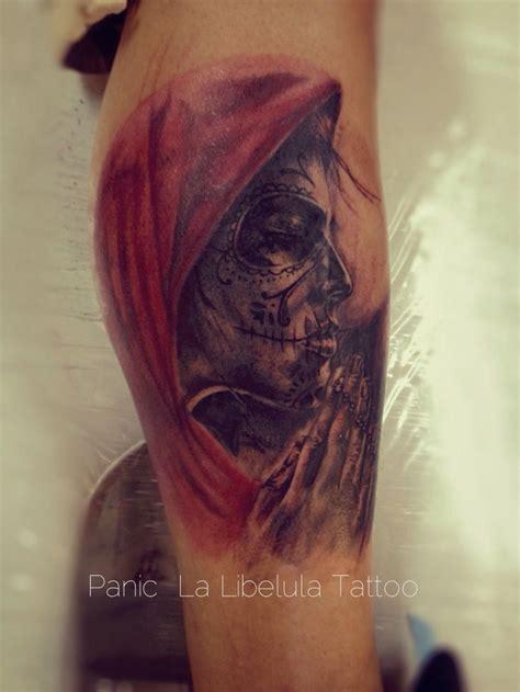la catrina tattoo catrina por panic one la lib 233 lula la lib 233 lula