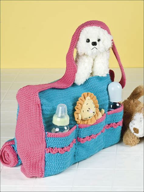 free pattern diaper bag crochet for babies children accessories to crochet for