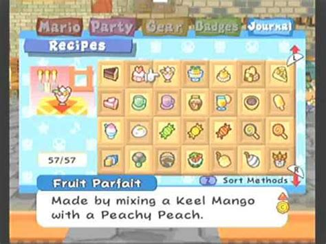 Paper Mario The Thousand Year Door Recipes by Paper Mario The Thousand Year Door Recipe Guide