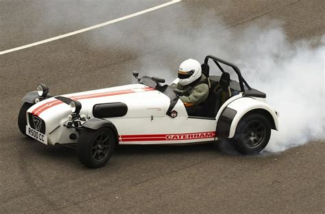caterham superlight r500 rolls the production line