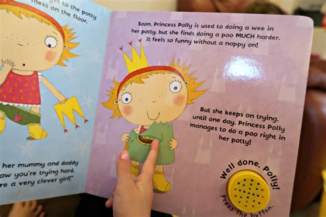 princess pollys potty sticker 0723281580 princess polly s potty a book to help potty training life with pink princesses