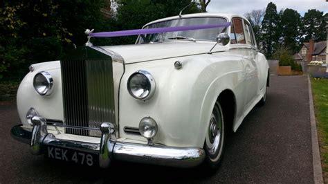 classic rolls royce silver cloud wedding car cardiff