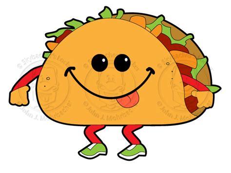 taco clipart walkin taco royalty free skybacher s locker