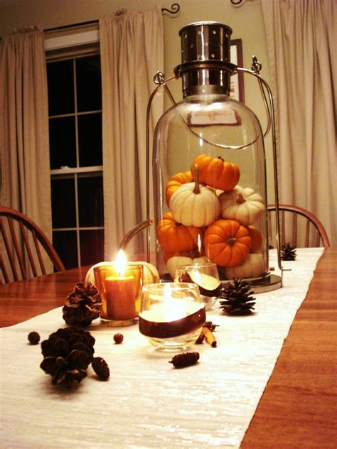 Decoration For Table 30 Festive Fall Table Decor Ideas