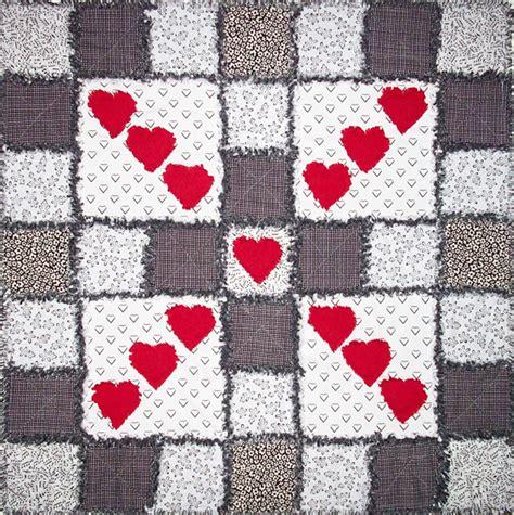 Raggedy Quilt by Raggedy Hearts Quilt Pattern Av 111 Beginner