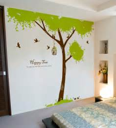 109 inch large tree wall decals for kids rooms nursery tree wall sticker for kids room