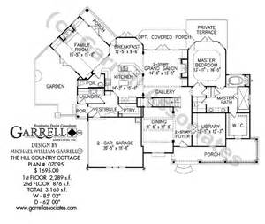 Country Farmhouse Floor Plans Hill Country Cottage House Plan House Plans By Garrell Associates Inc