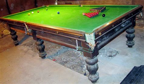 snooker pool table antique snooker tables 10ft browns antiques billiards and interiors